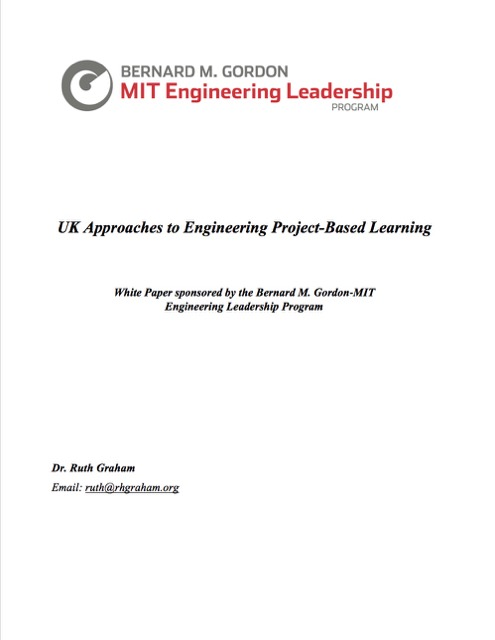 Uk Approaches To Engineering Project Based Learning